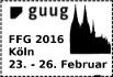 Logo des Frühjahrsfachgespräch (FFG) 2016
